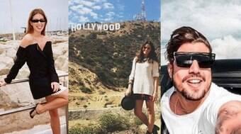Lar de Hollywood, Califórnia vira queridinha de famosos brasileiros