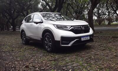 Honda CR-V 2021 muda e fica mais equipado