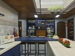 Clean>Cozinha do Chef, por Ana Terra, mescla elementos contemporâneos e clássicos com muita elegância