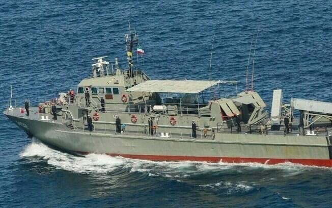 Acidente naval matou 19 pessoas no Irã.