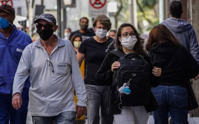 Circulação de pessoas aumentos após Plano de reabertura em São Paulo