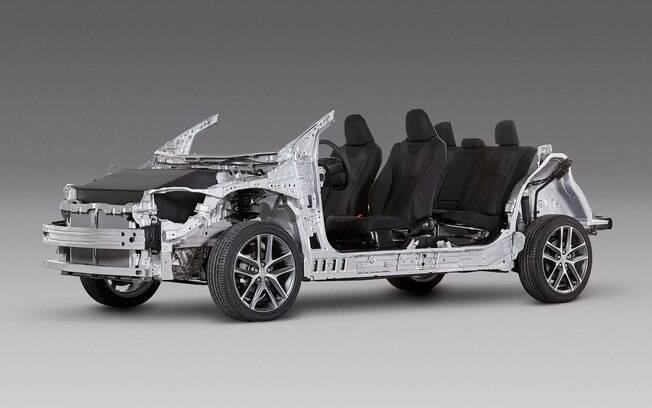 A plataforma TNGA trará mais dinâmica e eficiência ao lançamento da Toyota