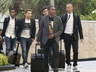 Cruzeirenses Everton Ribeiro e Ricardo Goulart e o atleticano Diego Tardelli já estão nos Estados Unidos