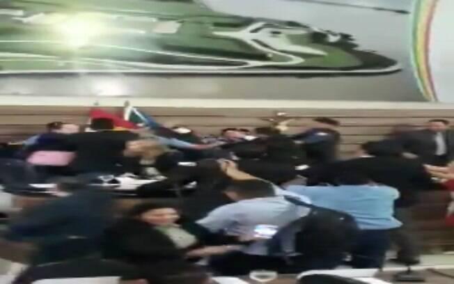 Discussão se transformou em briga generalizada na Câmara dos Vereadores de Macapá