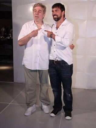 Reginaldo e Marcelo Faria estão no elenco de