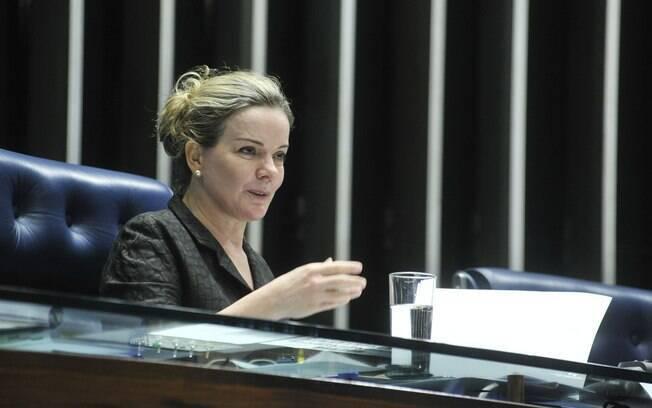 A senadora Gleisi Hoffmann (PR) é uma das indicações do PT para compor a comissão do impeachment no Senado. Foto: Geraldo Magela/ Agência Senado - 04.04.16