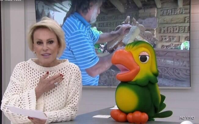 Ana Maria Braga esclarece que não recusou presente de artesão