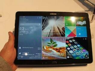 Novos tablets da Samsung têm Android com cara de Windows 8