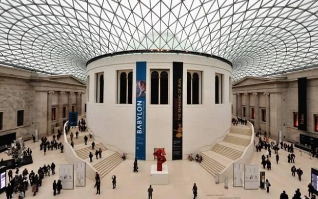 Museu britânico, em Londres