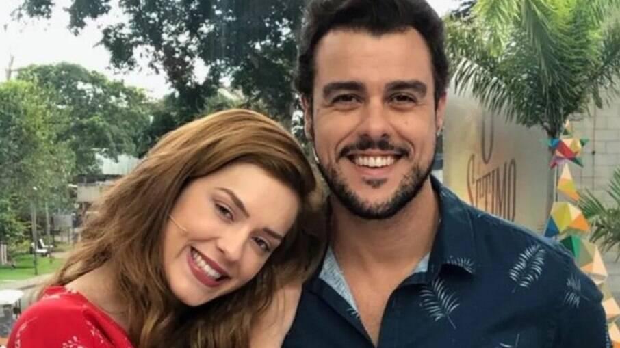 Joaquim Lopes e Sophia Abrahão foram os últimos apresentadores do