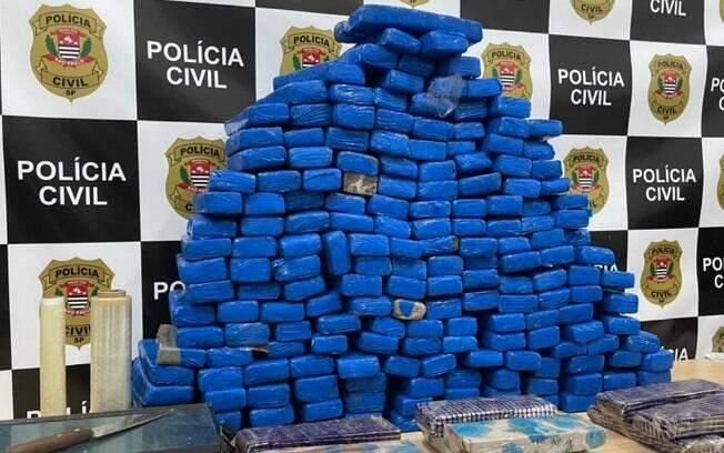 Polícia apreende 111 quilos de maconha em Santa Barbara d'Oeste