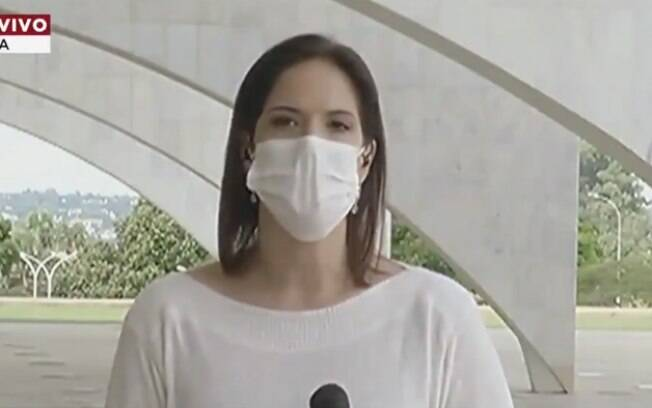 Jornalista Clarissa Oliveira foi agredida durante cobertura da BandNews TV
