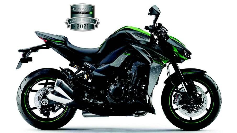 Kawasaki Z1000 R Edition ficou em terceiro lugar com a Medalha de Prata