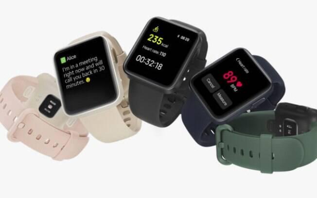 Xiaomi revela relgio Mi Watch Lite com bateria para nove dias