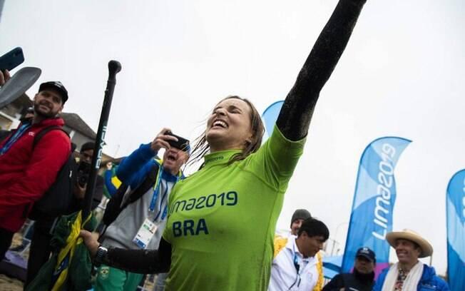 Lena Guimarães garantiu mais um ouro para o Brasil no Pan