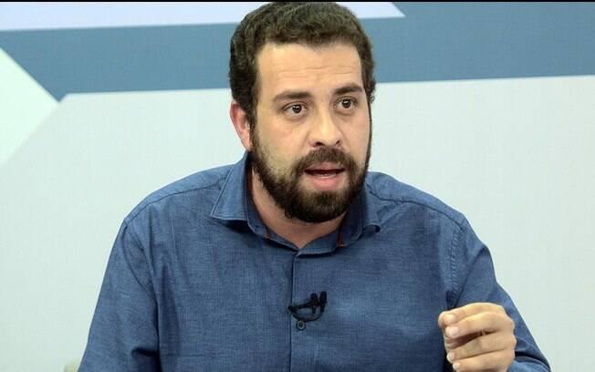Guilherme Boulos, candidato pelo PSOL