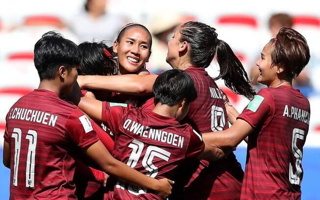 Seleção da Tailândia marcou um gol no Mundial feminino
