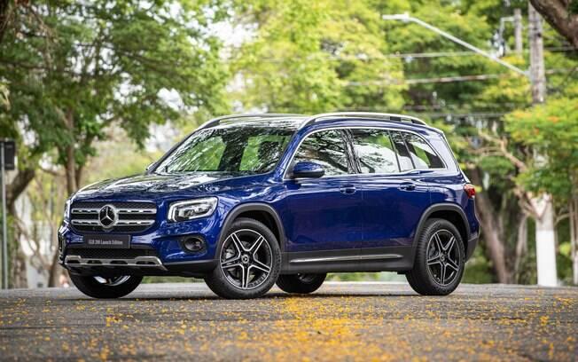 Mercedes-Benz GLB 200 Launch Edition começa a ser vendido no Brasi como SUV médio de sete lugares, rival de Land Rover Sport e outros
