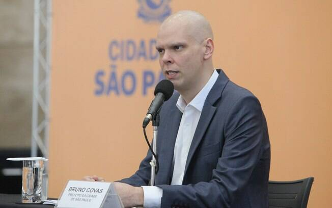 Prefeito Bruno Covas (PSDB) está em busca da reeleição