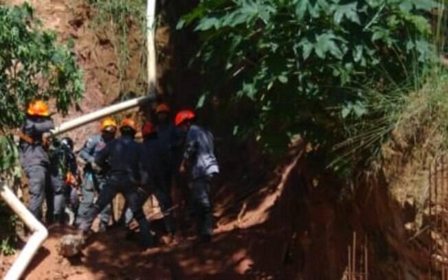 Desabamento em São Paulo deixa duas vítimas