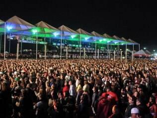Os artistas se apresentarão em cinco palcos diversos