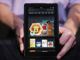 Kindle Fire, o primeiro tablet da Amazon, custa R$ 360