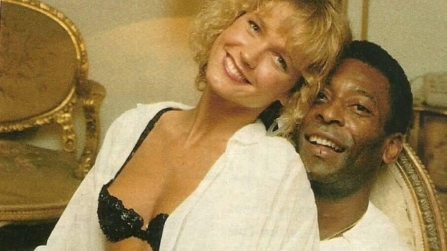 Xuxa com Pelé