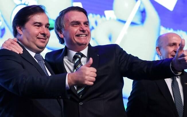 Rodrigo Maia disse que não é contra o governo Bolsonaro, mas não pode agir sempre com as vontades do Planalto