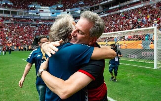 Jorge Jesus deixou o Flamengo