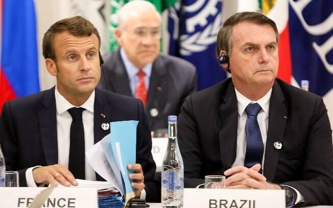 Emmanuel Macron chegou a afirmar que não assinaria o acordo com o Mercosul se o Brasil saísse do Acordo de Paris
