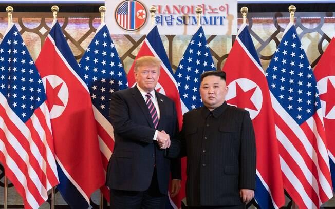 Negociações entre Donald Trump e Kim Jong-un estão paradas desde fevereiro