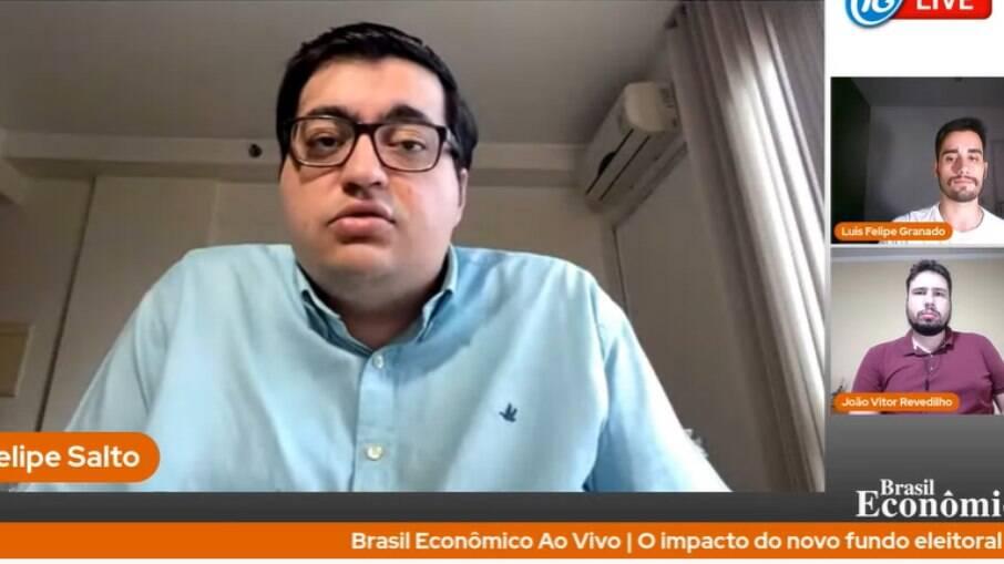 Felipe Salto foi o convidado da Live do Brasil Econômico desta quinta-feira (5)