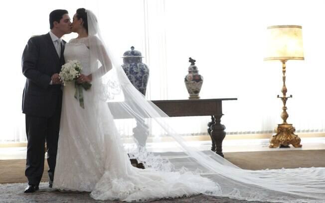 Apesar dos limites no orçamento, casal fez cerimônia e festa perfeitas