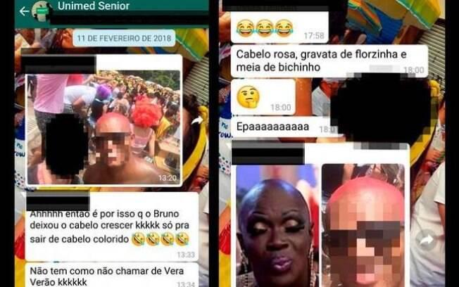 De acordo com a vítima, os insultos circulavam pelos grupos de WhatsApp da empresa