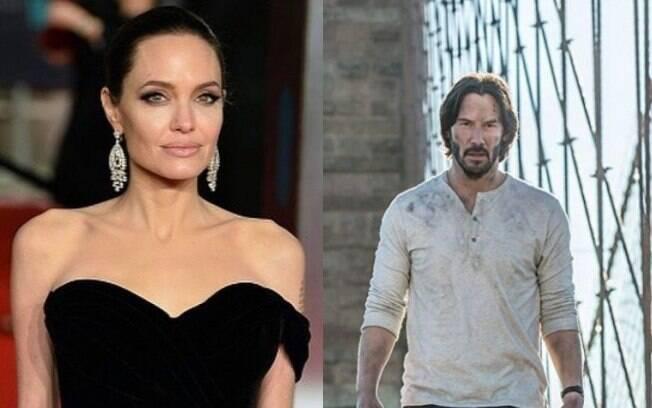 Angelina Jolie e Keanu Reeves