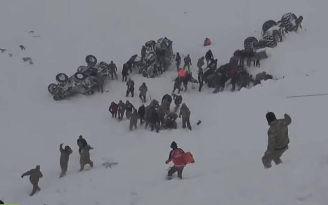 Avalanche na Turquia deixa 33 mortos e 53 feridos