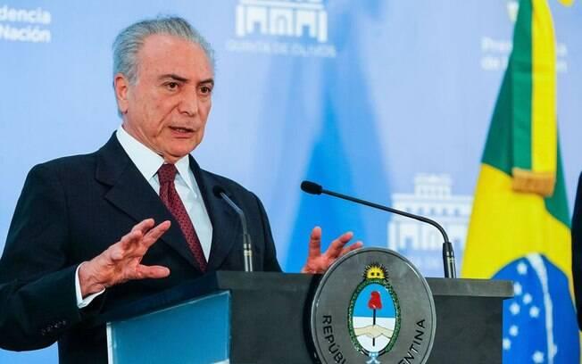 Pesquisa Ipsus aponta que a aprovação do presidente Michel Temer subiu nove pontos percentuais em um mês