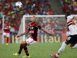 Mesmo jogando em casa, o Flamengo acabou derrotado pelo Tricolor Paulista