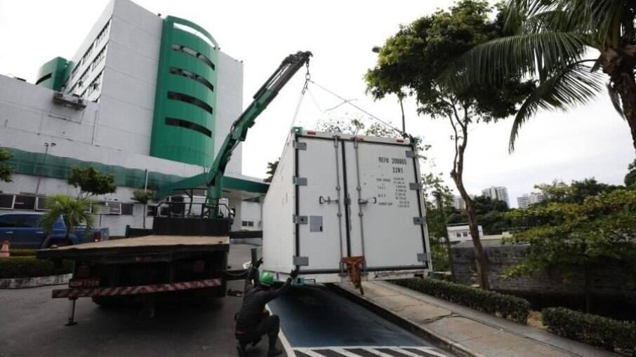 Câmara utilizada em Manaus durante colapso na saúde