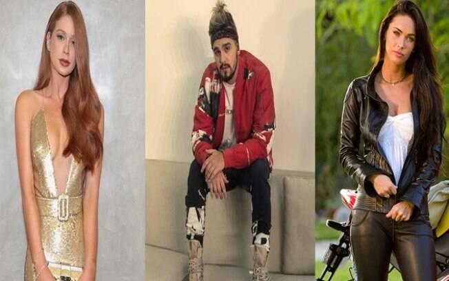Marina Ruy Barbosa, Luan Santana e Megan Fox são algumas das celebridades que fazem parte da lista de mania dos famosos