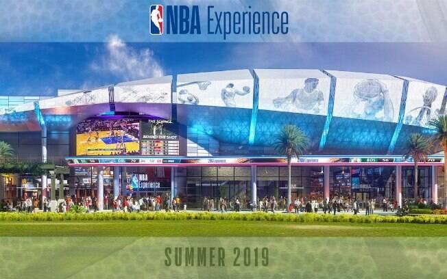 O NBA Experience dará um gostinho de como é ser um astro do basquete para quem procura coisas para fazer em Orlando