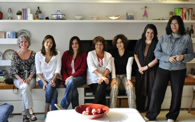 Beth entre as colaboradoras da novela