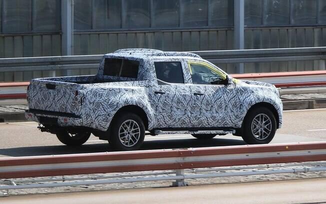 Picape que deverá ser chamar X Class seguirá o estilo do SUV GLE