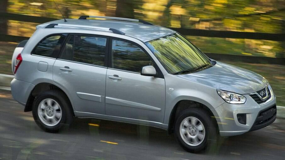 Chery Tiggo lidera vendas de SUVs chineses seminovos na plataforma online OLX