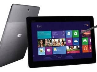 Asus Tab é o único tablet com Windows RT com data marcada para estrear no Brasil