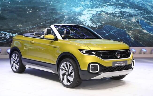 O futuro SUV compacto com a base do novo Gol terá um design inspirado no conceito T-Cross Breeze.