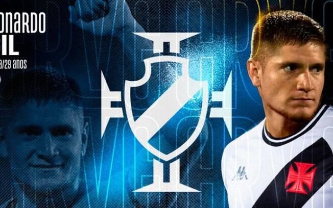 Versátil e especialista na bola parada: conheça Leonardo Gil, novo reforço do Vasco