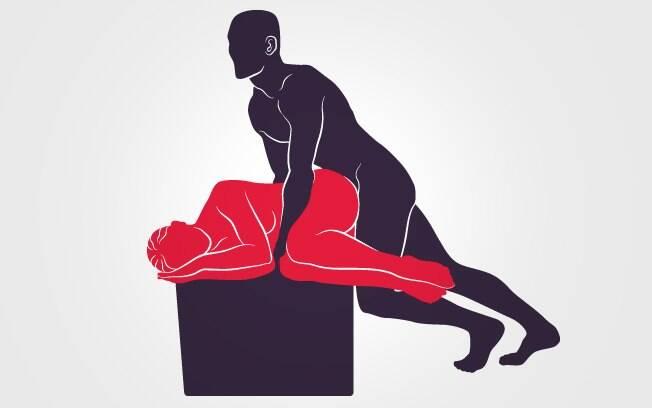 Outra das posições sexuais em que a diferença de altura ajuda: quando mais alta a parceira, menor o esforço do homem