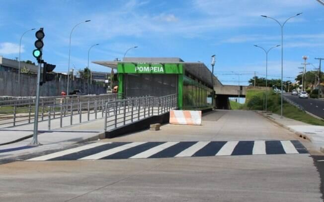 Emdec libera trecho do BRT na região do Campos Elíseos