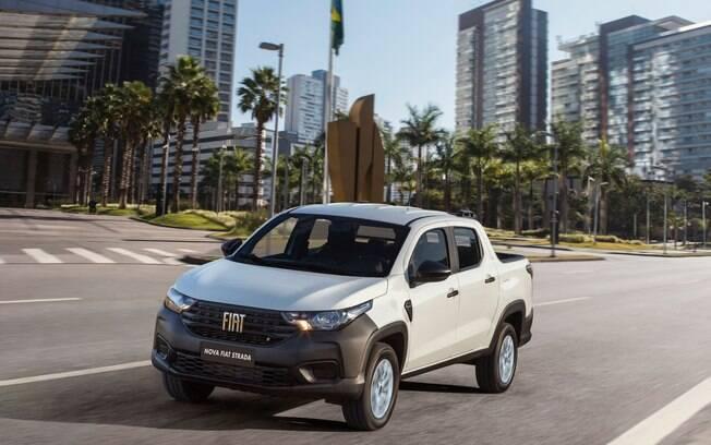 Fiat Strada vem se destacando  no ranking de vendas no Brasil diante até dos hatches compactos e SUVs